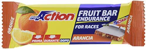 ProAction Fruit Bar (arancia, confezione da 24 barrette da 40 g)