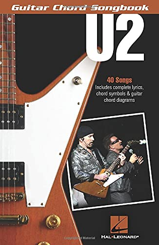 U2 - guitar chord songbook guitare: Jazz Play-Along Volume 179
