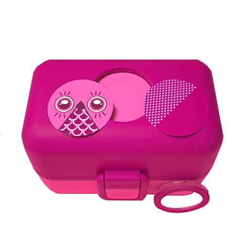 Bentobox pour Enfants Creative Bricolage Bande Dessinée Étanche Étanche Portable Réutilisable Micro-Ondes Bpa sans Nourriture Récipient De Stockage, Sac À Lunch (5 Couleurs),E