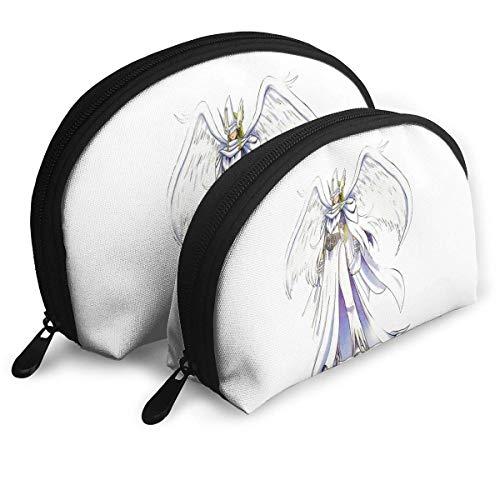 JUKIL Digimon Tragbare Taschen Kupplungstasche