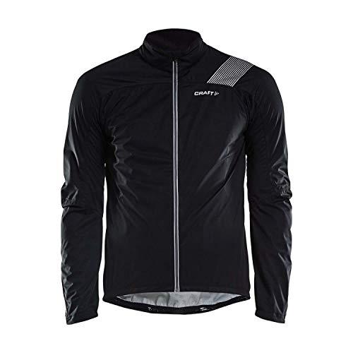 Craft Herren Verve RAIN Jacket M Regenjacke, Black, S