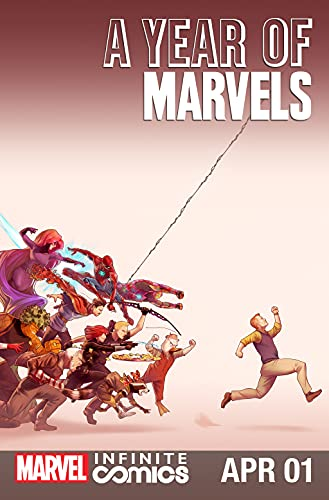 A Year Of Marvels: April Infinite Comic #1 (A Year Of Marvels - Infinite Comic) (English Edition)