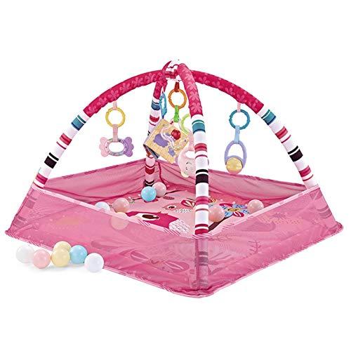 YzDnF Baby Crawling Game Pad Pedal de bebé Piano Música Fitness Rack Newborn Infantil Bebé Juguetes Chicos y niñas Puzzle 0-3 Meses 1 año de Edad Kick Play Piano Gimnasio
