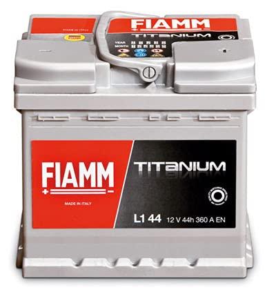 Batteria auto originale FIAMM cod. 7905143L150P 12V 50Ah 460A EN con Polo Positivo a Destra