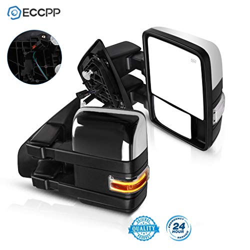 ECCPP F150 Towing Mirrors, A Pair of Exterior Automotive Mirrors fit 2004-2014...