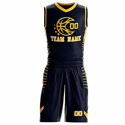 QL Mina Custom Atlético baloncesto Jerseys personalizado equipo de impresión estilo atlético baloncesto Jerseys para hombres