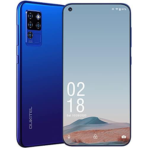 """Cellulare in Offerta, OUKITEL C21 Telefoni Cellulari in Offerta, Smartphone offerta del giorno Dual 4G Android 10, 6.4"""" FHD+ Schermo, 4+64GB, 4000mAh, 20MP +16MP Quad Fotocamera, (32GB Carta Gratuita)"""