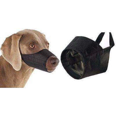 UPDOG Hund Maulkorb Nylon für kleine, mittlere oder große Hunde. Maulkörbe Anti-Biss Anti-Bellen Anti-Kauen