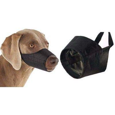UPDOG Bozal para Perros Nylon Ajustable para Perros Pequeños, Medianos o Grandes