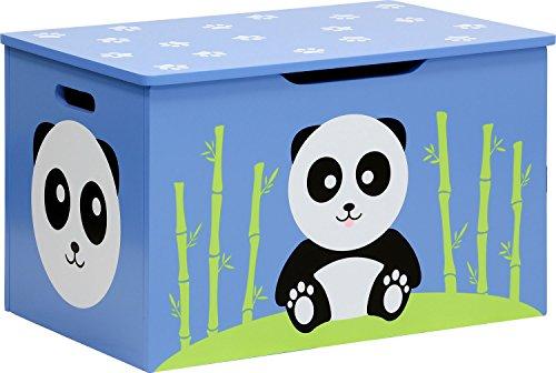 IB-Style - Meubles Enfants Panda | 3 Combinaisons | Banc avec Rangement avec Une Caisse à Jouets intégrée