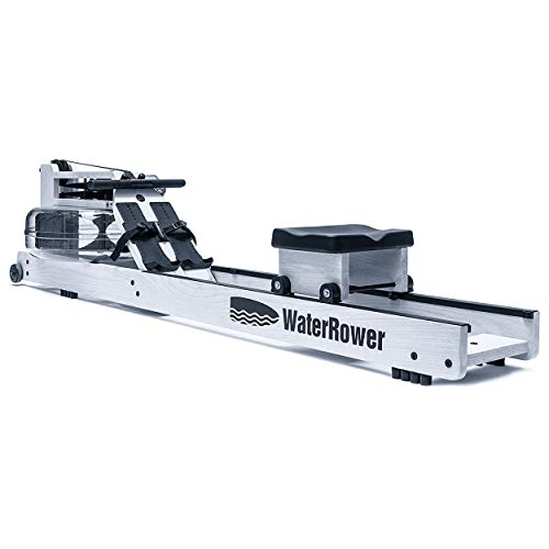 WaterRower Blanc Rowing Machine in Ash Wood with S4 Monitor