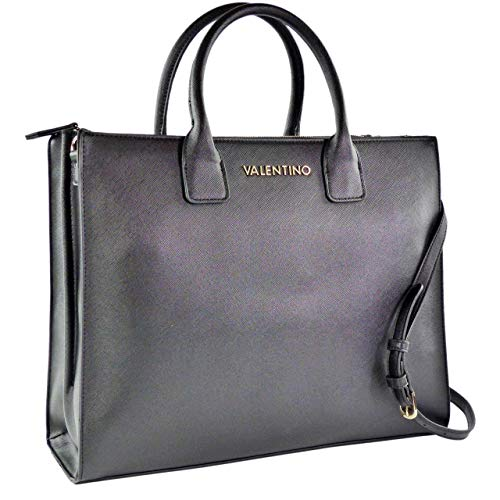 Mario Valentino Gong dames business tas/schoudertas zwart