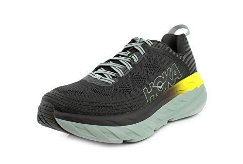 Hoka Bondi 6, Zapatillas de Running por Hombre, Gris (BlackOlive/Pavement), 42 2/3 EU