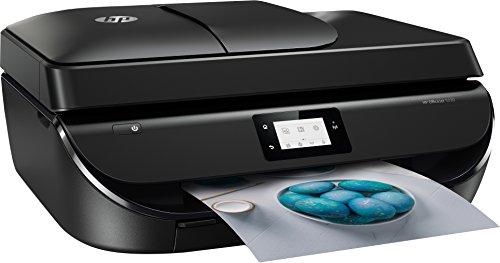 HP Officejet 5230 – Impresora multifunción inalámbrica (tinta, Wi-Fi, copiar, escanear, impresión a doble cara, 1200 x 1200 ppp, 10 ppm, incluido 4 meses de HP Instant Ink), color negro