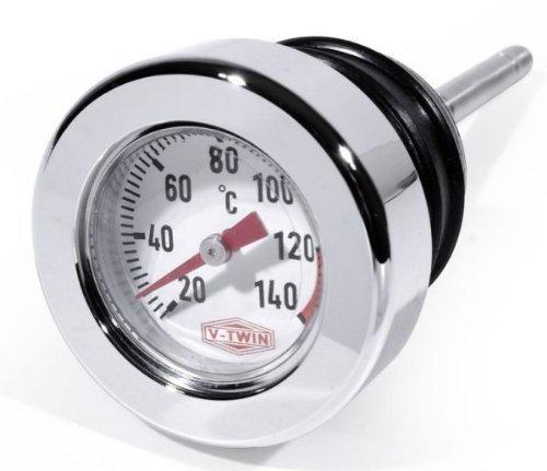 Öl Messstab Celsius Temperatur Peilstab f. Harley Davidson Softail Thermometer