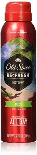 Old Spice Fresh Collection Body Spray, Fiji, 3.75 oz by Old Spice