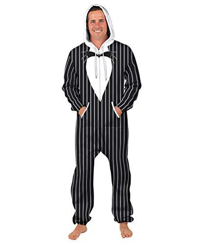 Unisex Halloween Herren Damen Jumpsuit Onesie Jogger Einteiler Overall Jogging Anzug Trainingsanzug Slim Fit 3D Druck Strampler - 3