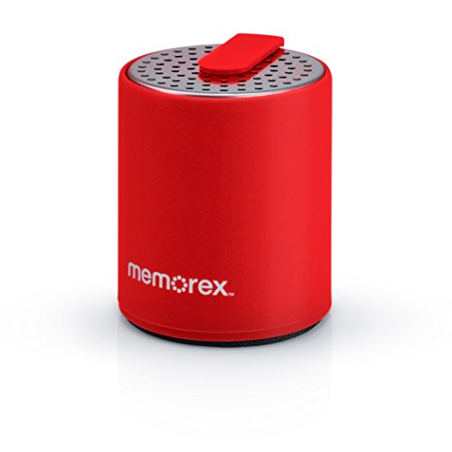 Memorex Micro Bluetooth Speaker (Red)