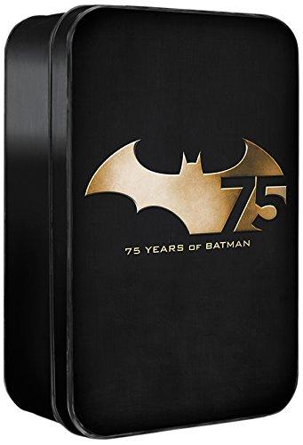 DC Collectibles Batman 75th Anniversary Action Figure (Set #2), 4-Pack