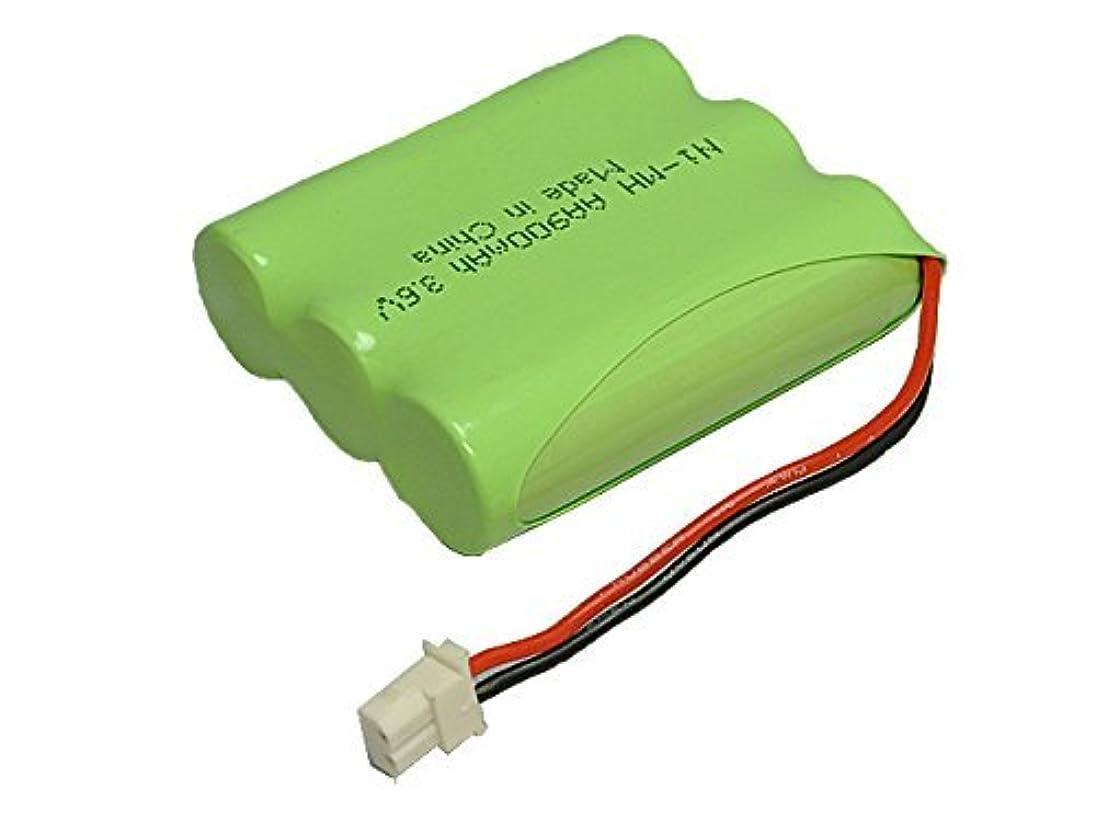縮約寸前カバー【掘出】パナソニック ( panasonic ) コードレス子機用充電池【 KX-FAN55 / BK-T409 対応互換電池】