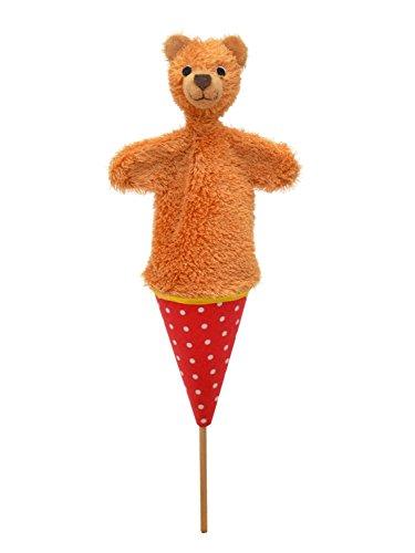 MUBRNO 12611A Teddybär Tütenkasper, Mehrfarbig