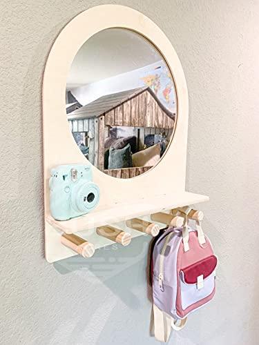 Montessori Entry Mirror - Toddler Self Care Station – Toddler
