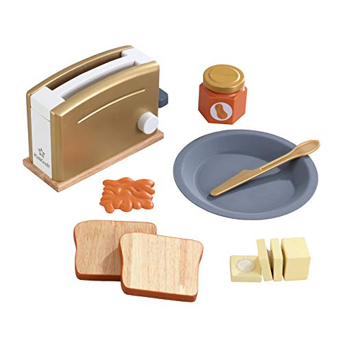 KidKraft- Kit de tostadora de juguete de madera (accesorio