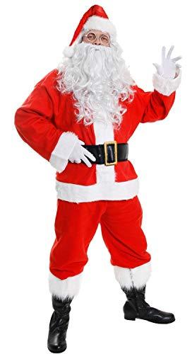 I Love Fancy Dress ILFD4554XXL Costume da Babbo Natale (2XL)