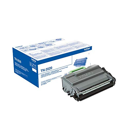 Brother Original Tonerkassette TN-3520 schwarz (für Brother HL-L6400DW, HL-L6400DWTT, MFC-L6900DW)