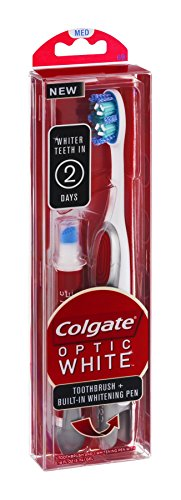 Colgate Optic White Toothbrush + Built-In...