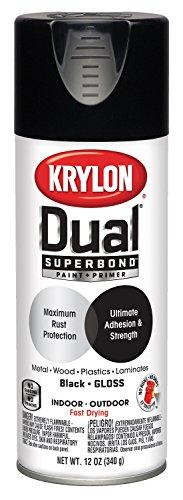 Krylon K08801007 'Dual' Superbond Paint and Primer
