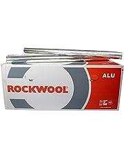 Steenwol buisisolatie Rockwool 800 aluminium gelamineerd 22 x 20 mm vol karton