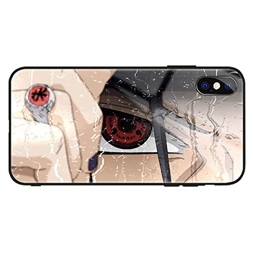 Anime Naruto Hokage Sasuke Kakashi Carcasas para iPhone 11 Pro XR XS MAX X 7 8 6 S Plus 11Pro SE 2020 Vidrio Templado Fundas Capa-Photo_Color_6/6S