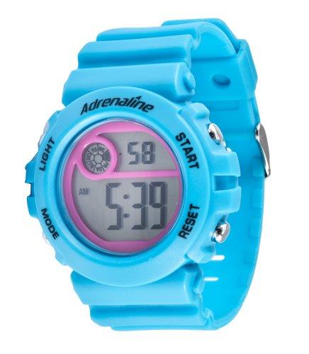 Freestyle AD50707 - Reloj Digital de Cuarzo para Mujer con Correa de Caucho, Color Azul