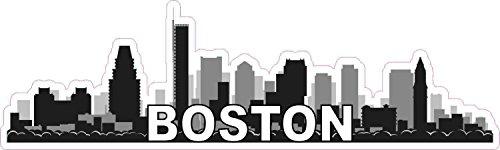 boston skyline decal - 1
