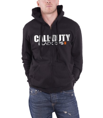 Call of Duty BO2 Zipper Hoodie -M- schwarz, Logo