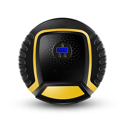 Compresseur D'air Digital Portatif, Gonfleur De Pneu Avec Lampe LED& Lcd Jauge De Pression Numérique Pour Voiture Moto Vélo