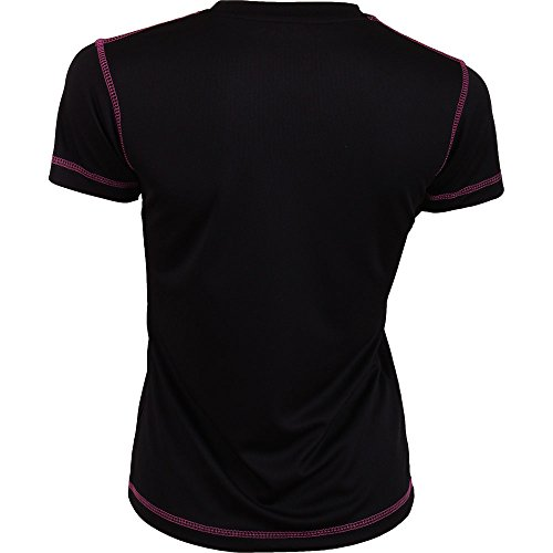 Padel Session Camiseta Tecnica Negra