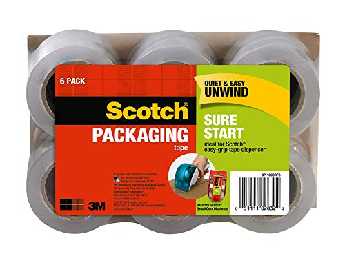 Amazon : Scotch packaging tape from $11.39