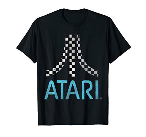 Atari Checkers 80s Logo T-shirt, Adults and Kids up to 3XL