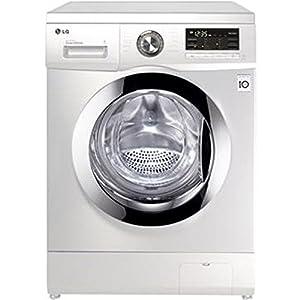 Lg lavadora carga frontal f4j5tn4w 8kg 1400 rpm