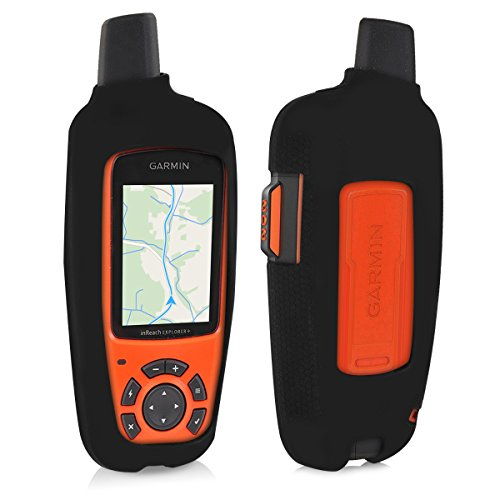 kwmobile Cover in silicone compatibile con Garmin inReach Explorer - Custodia protettiva antiscivolo compatibile con dispositivi GPS di navigazione - Protezione navigatore
