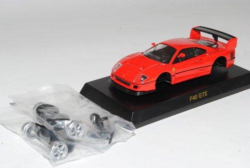 Kyosho Ferrari F40 GTE Coupe Rot 1987-1992 Bausatz Kit 1/64 Modell Auto