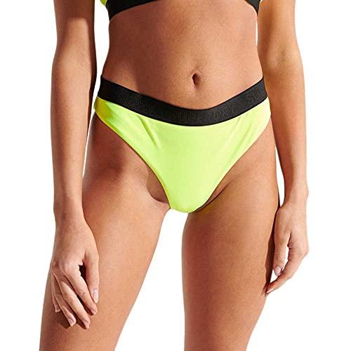 Superdry Sport Bikini Brief Juego Biquini, Cuba Green, XL para Mujer
