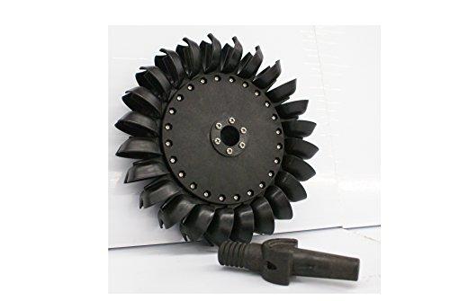 Pelton Water Wheel Turbine 10.625' (269.89mm)