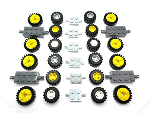 LEGO City Rädersatz 50 Teile wie Bild Ersatzteile