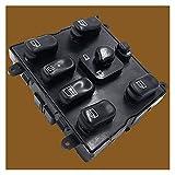 HAIQING Piano Sea Control de Interruptor de Ventana de plástico Negro Master Master 1638206610 Fit para Mercedes M-Class W163 ML 230 320 430 500