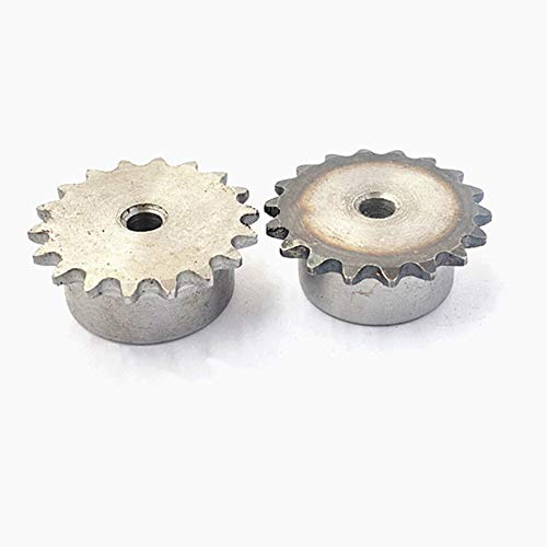 Power Transmission 1Pcs 04C 25 Teeth - 47 Teeth Sprocket Wheel Chain Gear Pitch 6.35mm 45 Steel Suitable for 04C Roller Chain - (Number of Teeth: 04C-34 Teeth)