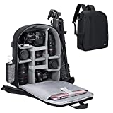 Cwatcun Camera Backpack with Tripod Holder, Anti-Theft Waterproof...