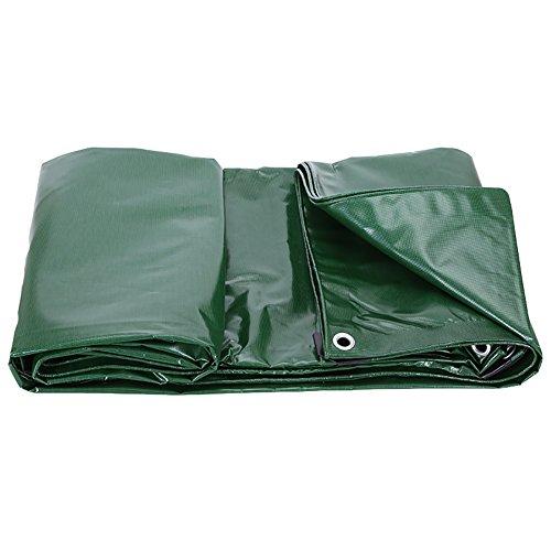 LI MING SHOP-Tents tentes extérieur rembourré Bâche imperméable Crème Solaire extérieur Abat-Jour Chiffon avec revêtement en PVC Sol Chiffon de Protection Contre la Pluie – Bleu Vert + + 3 x 3 m Noir